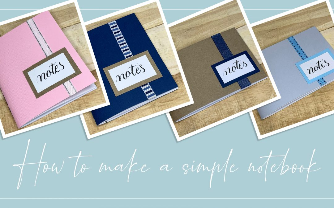 How to make a simple notebook